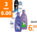 Tot 75% korting op Andrélon, Dove en Rexona - AH Albert Heijn black friday
